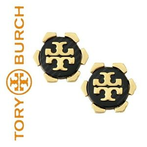 🌟NWOT🌟Tory Burch Stud Logo Earrings